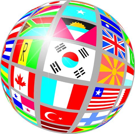 free printable clip art flags of the world sphere flags clip art at clker com vector clip art