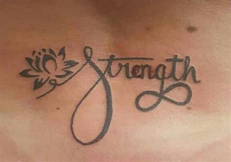 lotus tattoo strength strength tattoo lotus flower represents strenght