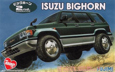 1 24 Isuzu Bighorn Trooper Suv Model Kit Fuj 037967