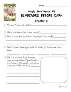 Magic Tree House Worksheets by Magic Tree House 2 The At Comprehension
