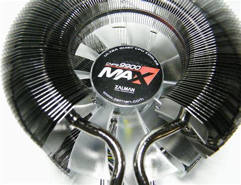 zalman fan resistor zalman cnps9900 max review techpowerup