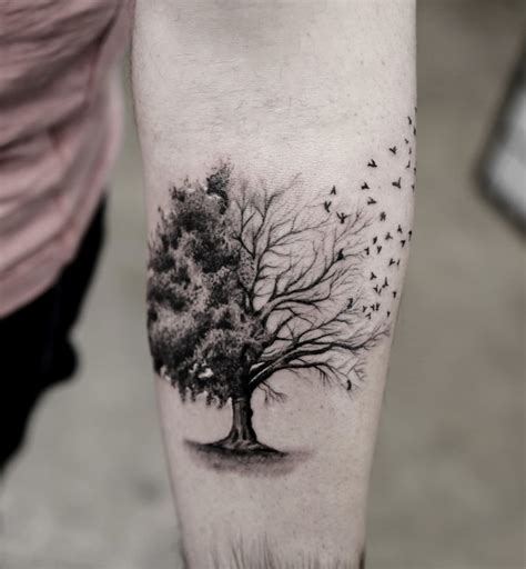joshua tree tattoo 55 magnificent tree designs and ideas tattooblend