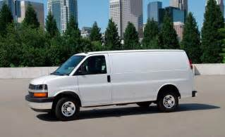 2015 Chevrolet Express 2500 Car And Driver
