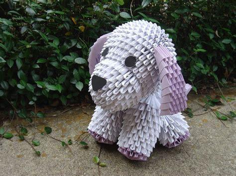 3d origami dog tutorial m 225 s de 25 ideas 250 nicas sobre 3d origami en pinterest