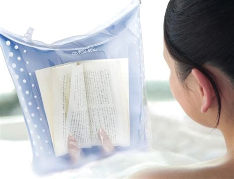 Lets Get And Take A Bath by This Useful Product Let S You Read Books While Taking A