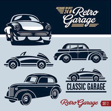 design a garage logo retro coffee logos creative design vector free vector in