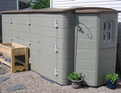 Thinking Shed by Lifetime Vinyl Storage Shed 300