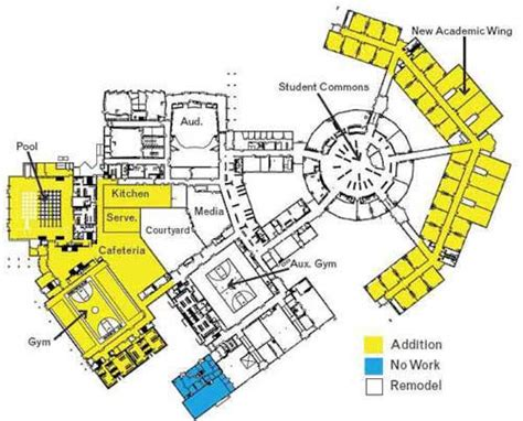 Preschool Floor Plans Design high school layout now complete