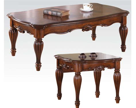 cofee table sets coffee table set dreena by acme furniture ac10290set