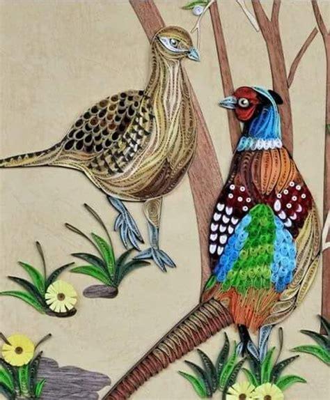 quilling tutorial bird 522 best quilling birds images on pinterest paper art