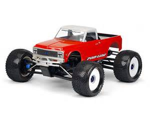 pro line 72 chevy c10 rc truck for traxxas maxx revo
