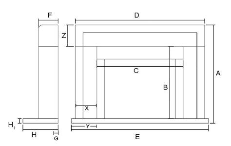 direct line casa casablanca marble mantel fireplace mantel surrounds