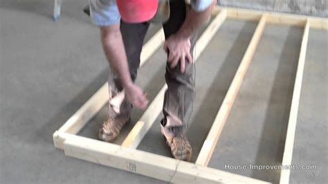 how to build a stud wall in a bathroom wood stud wall framing youtube