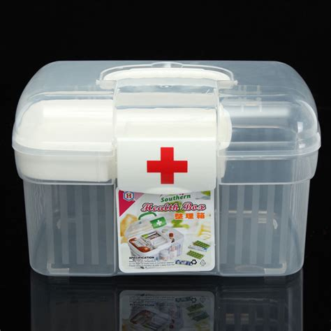 light in the box order tracking 2 layers health pill chest aid kit medicine bottle