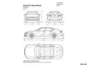 audi a7 sportback dimensions wallpaper 135