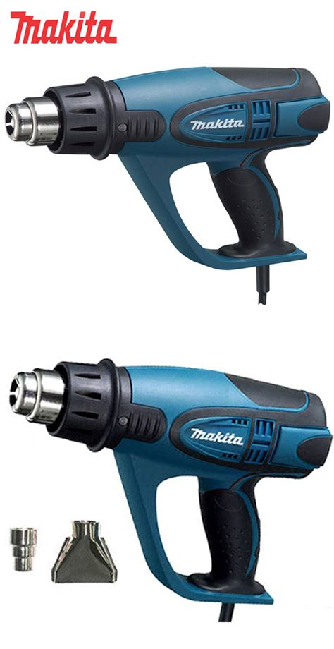 Heat Gun Makita 6003 Pcs new makita 1800w 600 heat gun hg6003 w 2 nozzles 220 240v ebay