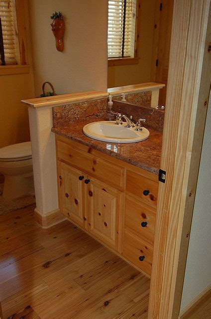 knotty pine bathroom vanity cabinets photos vanities and pine on pinterest