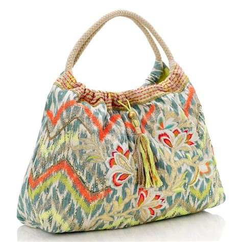 printable fabric bags ikat print handbags i think fashion