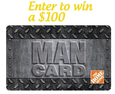 How Much Is On My Home Depot Gift Card - father s day giveaway 100 home depot gift card