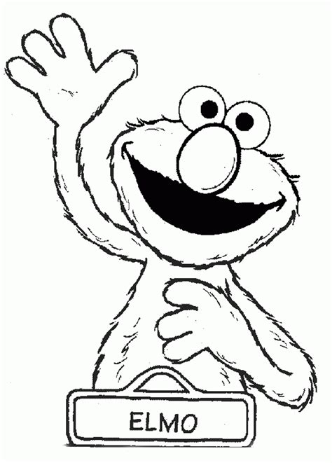 elmo birthday coloring pages az coloring pages