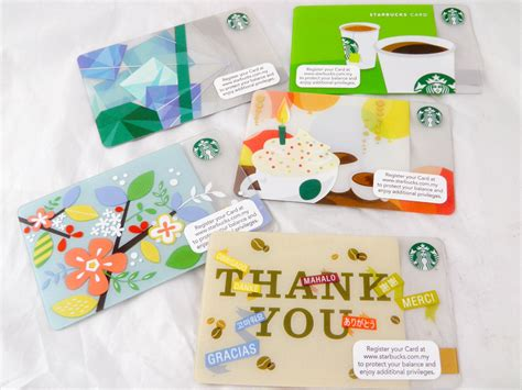 New Starbucks Gift Card - gift card giftcard malaysia starbucks gift edition 2013 new collectible ice cubes s
