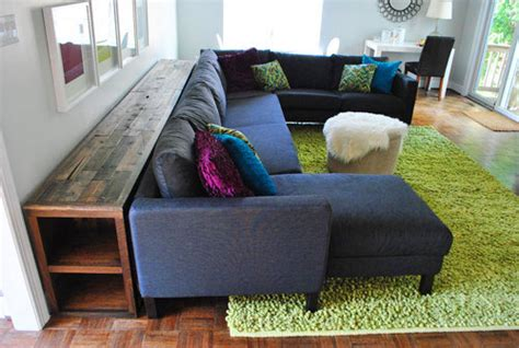 young house love sectional how to build a console table it s done young house love