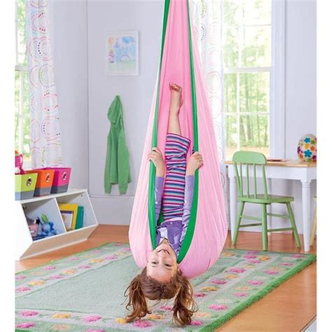 hanging swing chair for kids bedroom indoor outdoor canvas hanging hammock chair swing for by
