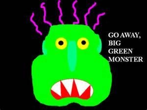 go away green my classroom