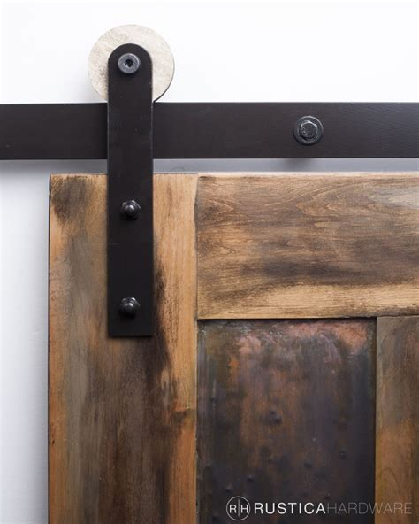 Modern Rolling Door Hardware Wooden Wheel Style Barn Door And Hardware