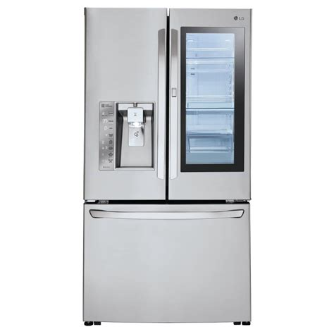 Door Review by Lg Electronics 30 Cu Ft 3 Door Door Refrigerator