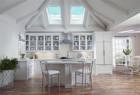 Velux Kitchen Skylights by Velux Skylights Bathe Kitchens In Daylight