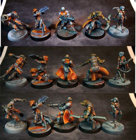 how to paint infinity miniatures 65 best images about infinity paint on