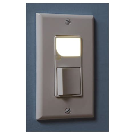 2 Pk Of Leviton Switches With Led Night Lights White Led Light Switch