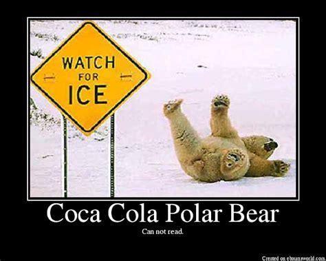 Polar Bear Coke Meme - coca cola polar bear picture