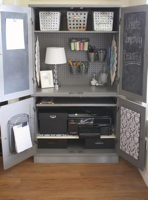 25 great ideas about computer armoire on