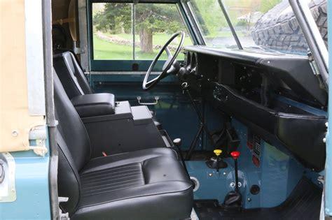 land rover series 3 interior 1973 land rover series iii marine blue america