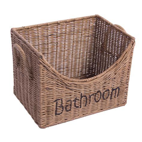 aufbewahrungsbox mehl aufbewahrungsbox bathroom xl rattankorb rattan landhaus