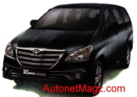 Lu Depan Mobil Innova harga kijang innova facelift 2013 naik 1 8 hingga 4 7 juta rupiah
