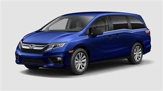 Honda Odyssey Colors 2018 Honda Odyssey Exterior Color Options On Lx And Above