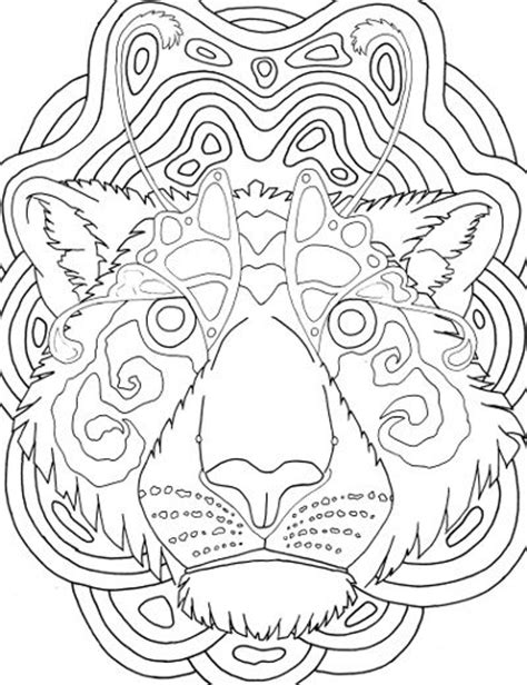 tiger mandala coloring pages 40 best adult coloring pages images on pinterest adult