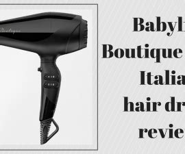 Babyliss Boutique Hair Dryer Review barry m mask review the fuss