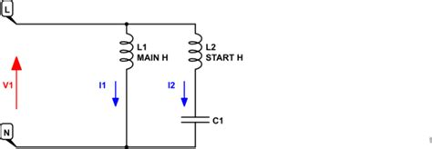 function of capacitor in motor how does a capacitor function in a 120v ac motor circuit electrical engineering stack exchange