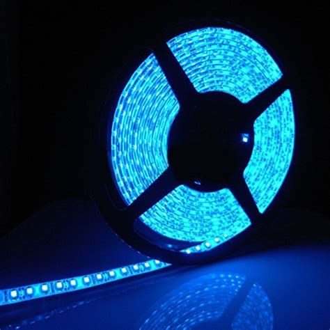 buy cuttable led light for car home 5mtr blue
