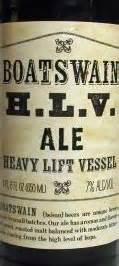 boatswain beer hlv boatswain heavy lift vessel ale reviews trader joe s