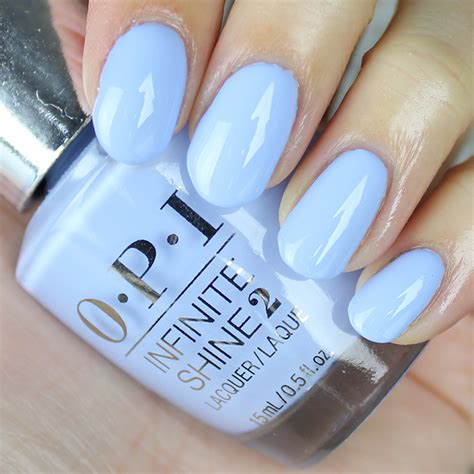 opi light blue colors opi infinite shine to be continued swatches review