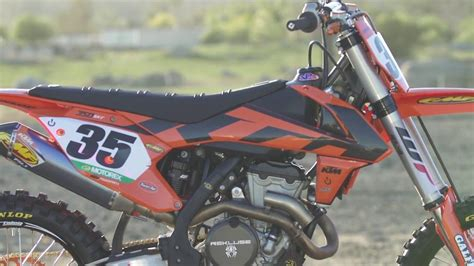 Ktm Power Parts Canada Tested 2016 Ktm Powerparts 350 Sx F Drn Motocross