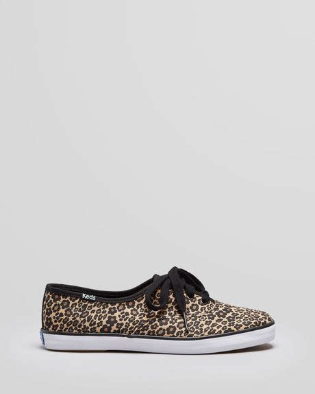 keds leopard sneakers keds sneakers chion leopard in animal lyst