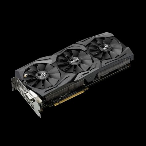 Vga Asus Geforce Rog Strix Gtx1060 6g Gaming 6gb Gddr5 характеристики asus geforce 174 gtx 1060 strix 6g strix gtx1060 6g gaming зона51