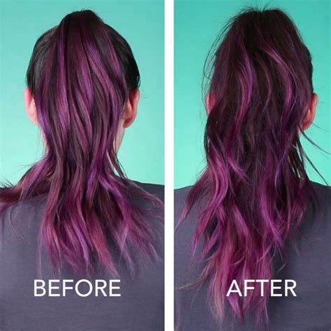 hairstyles to hide dyed tips best acrylic nails ideas on pinterest