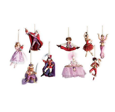 nutcracker suite holiday ornaments collection